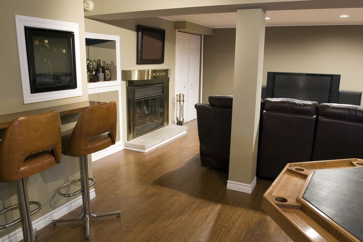 10 Best Basement Flooring Options Basement Flooring Options Home Theater Room Design Best Flooring For Basement