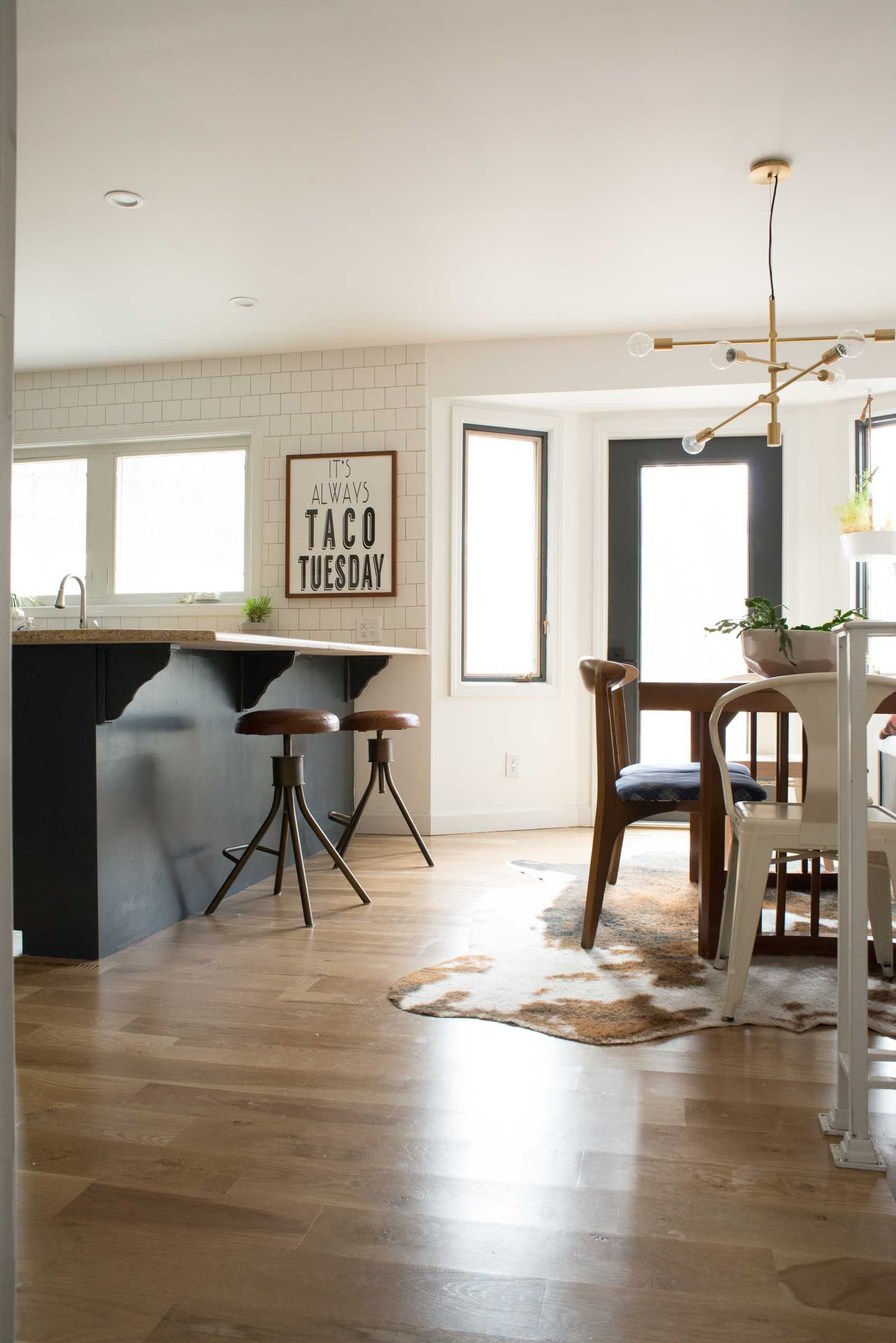 Before & After: A Budget Conscious Kitchen and Dining Room Makeover ...