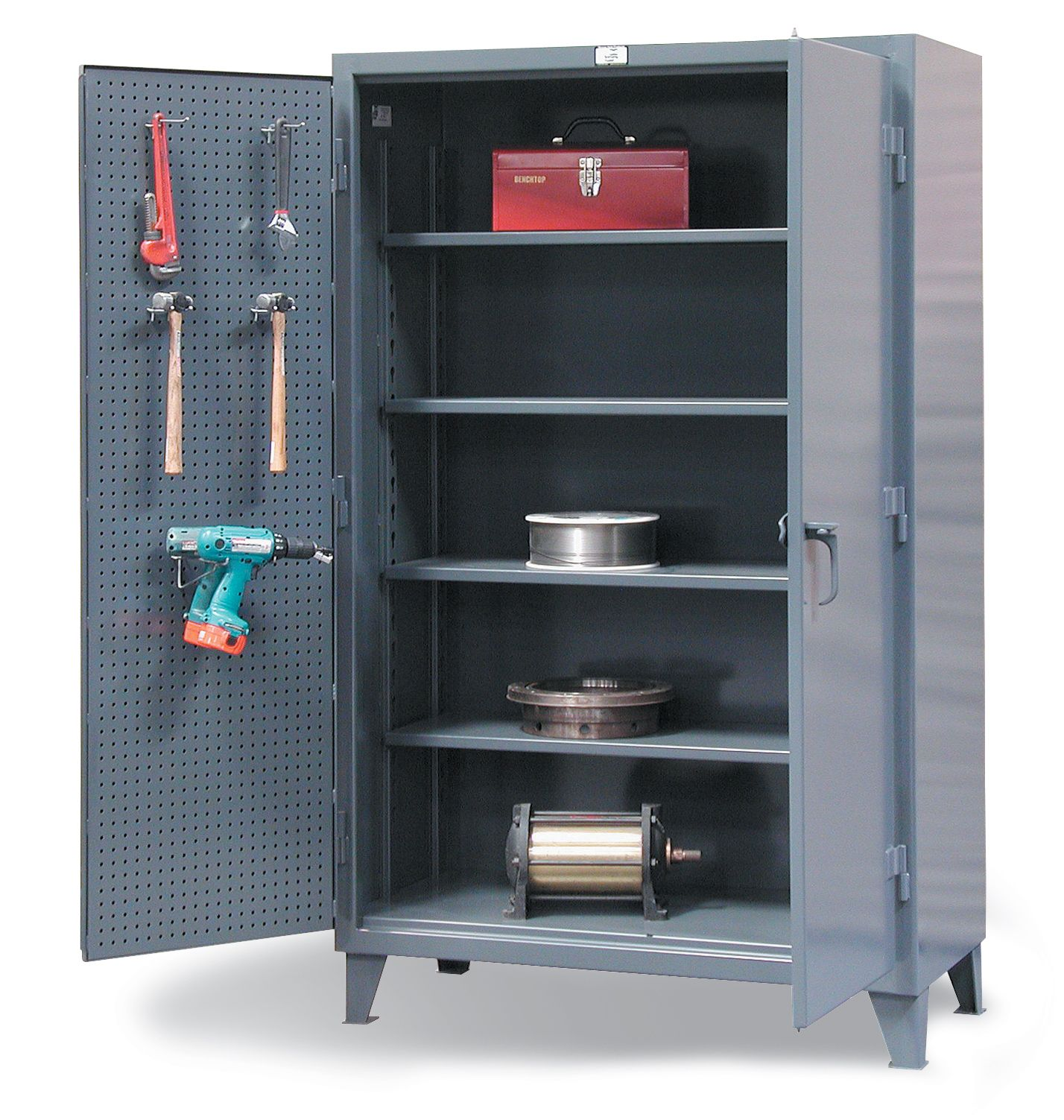 Strong Hold Products Garage Storage Cabinets Industrial Storage Cabinets Storage Cabinets