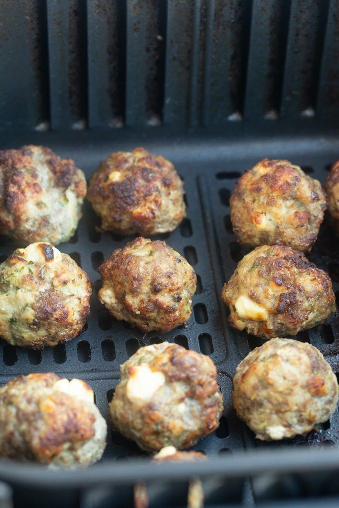 Quick and Easy Air Fryer Meatballs Recipe Recipe Air