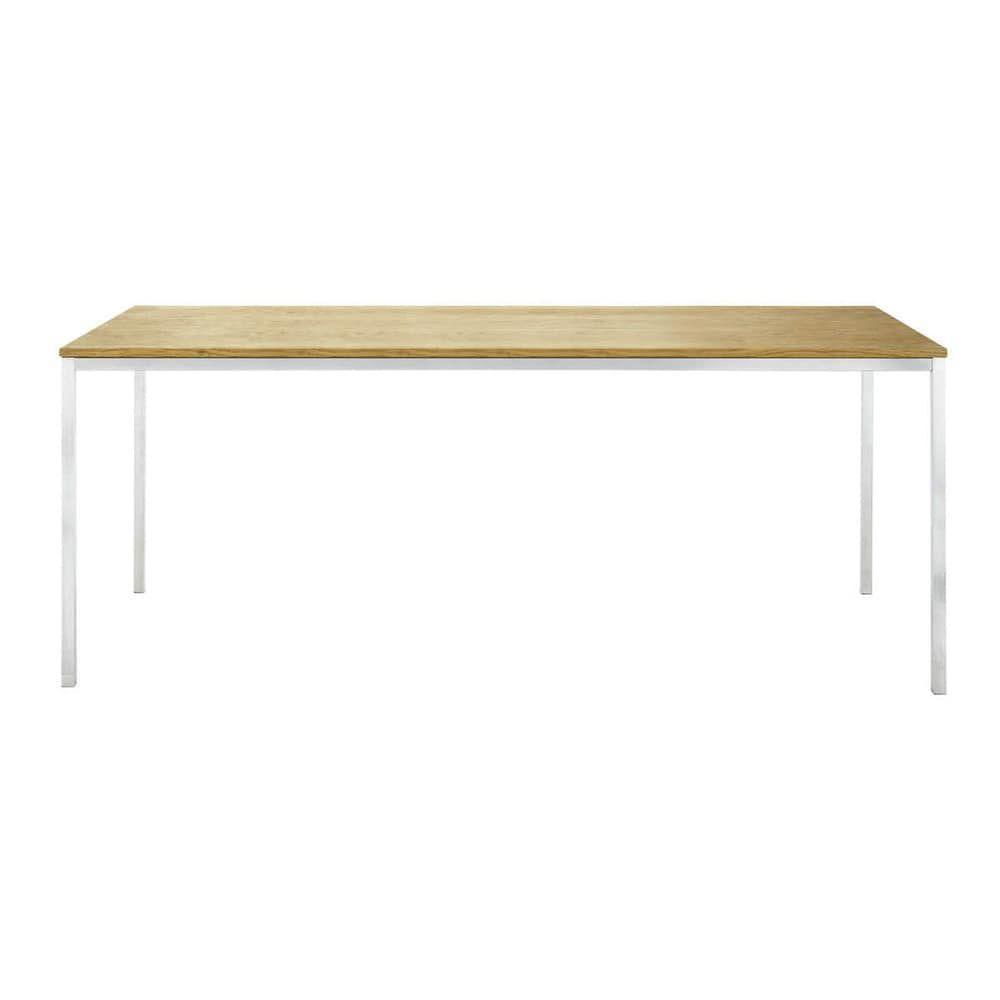 Tisch Rechteckig 180x90 Cm Vancouver Maisons Du Monde Tisch Flur Mobel Eiche Holz