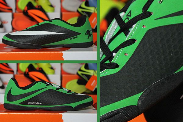 Jual Nike Hypervenom Hitam Hijau Kw Super Hitam Nike Sepatu