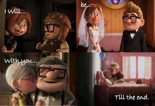 I will be with you till the end  #Up #cartoon #animation