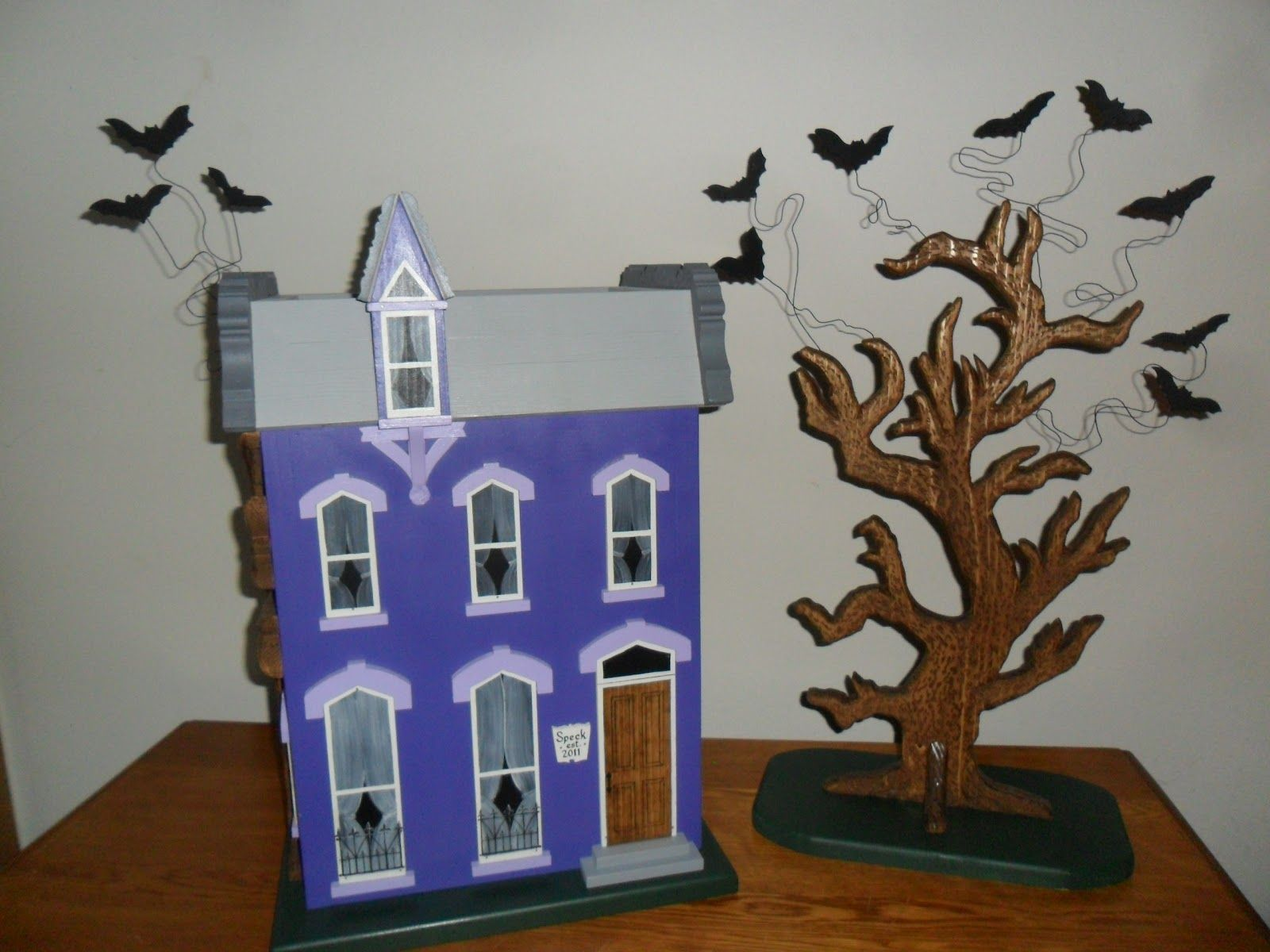 Wedding Card Box House I Made For A Halloween