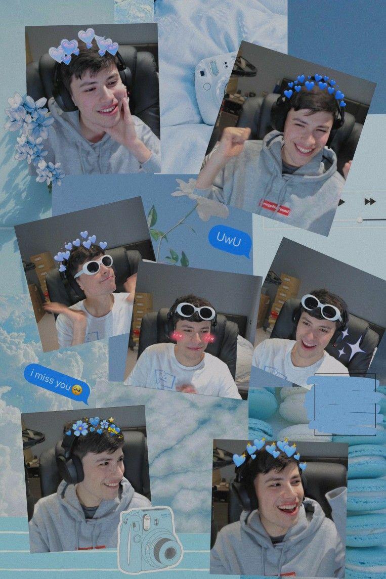 Georgenotfound Wallpaper In 2020 Team Wallpaper Minecraft Wallpaper Dream Team