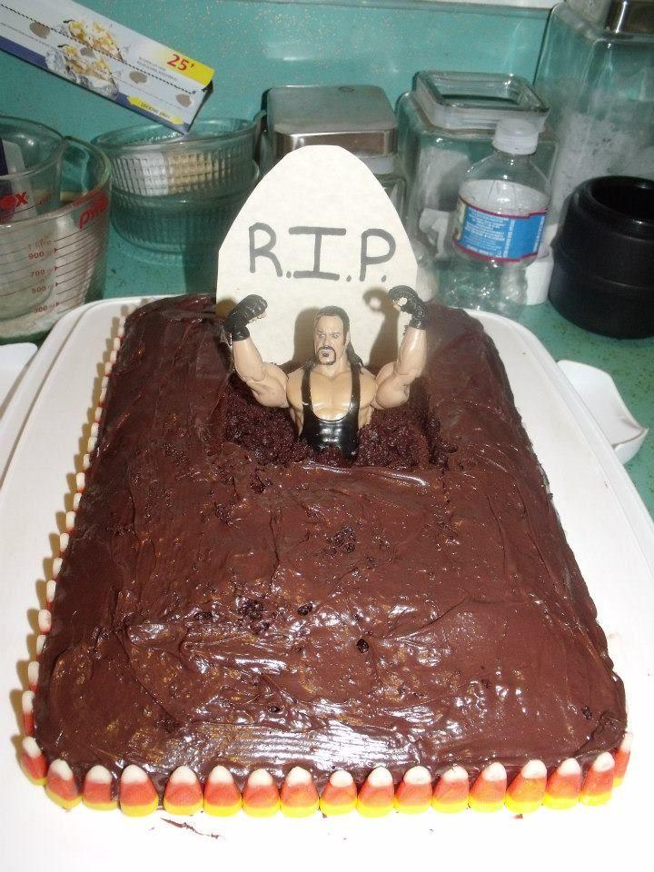 Undertaker Halloween Cake Wwe Bday In 2018 Pinterest Halloween