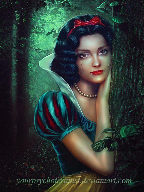 Snow white by yourpsychotherapist.deviantart.com on @DeviantArt