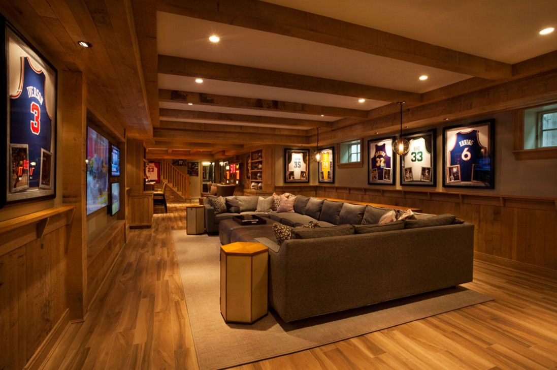 13 Basement Designs You Should Copy Man Cave Design Basement
