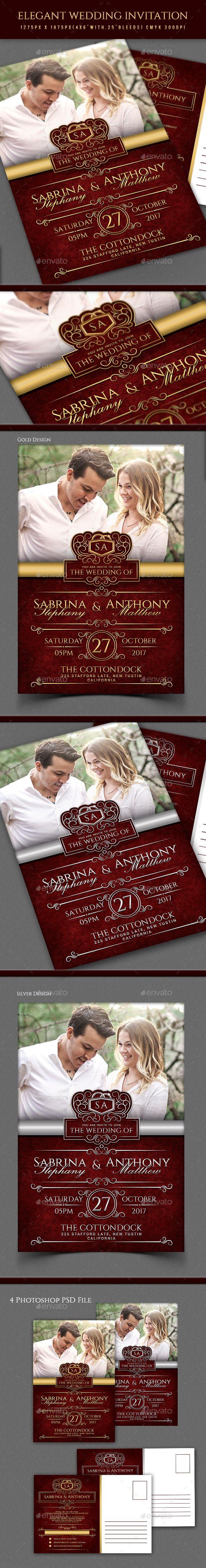 Elegant Wedding Invitation | Pinterest | Elegant wedding invitations ...