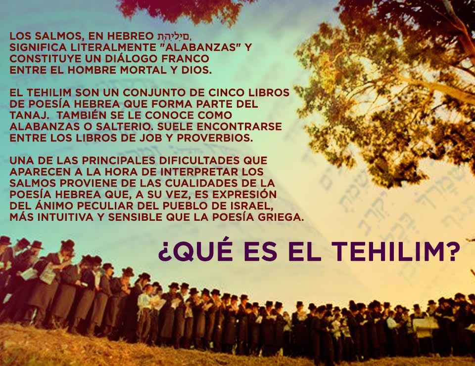 #Judaismo #Tehilim  www.enlacejudio.com