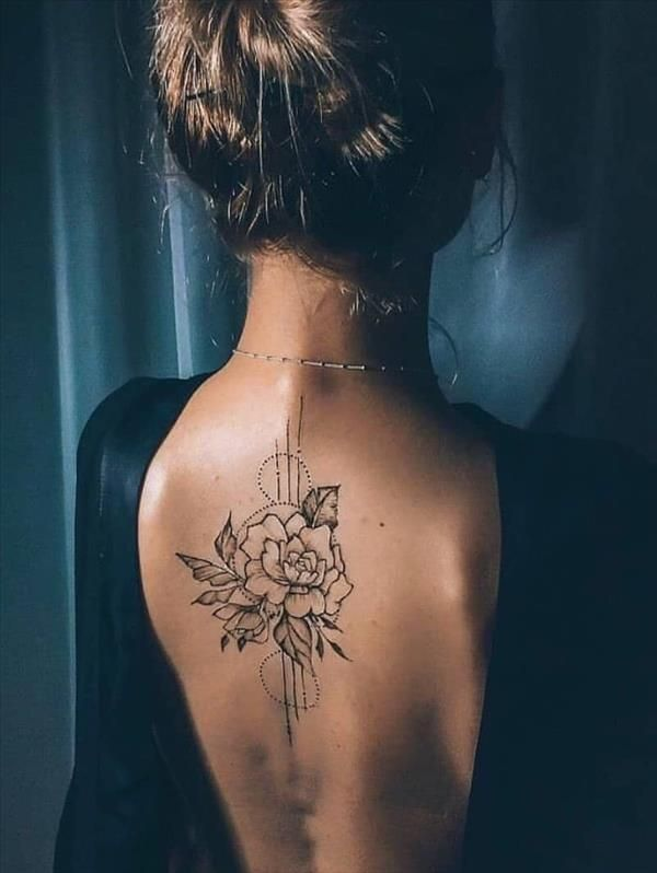 Back Tattoo | Naked Back Tattoos Are The Most Tempting! – Latest Fashion Trends For Woman