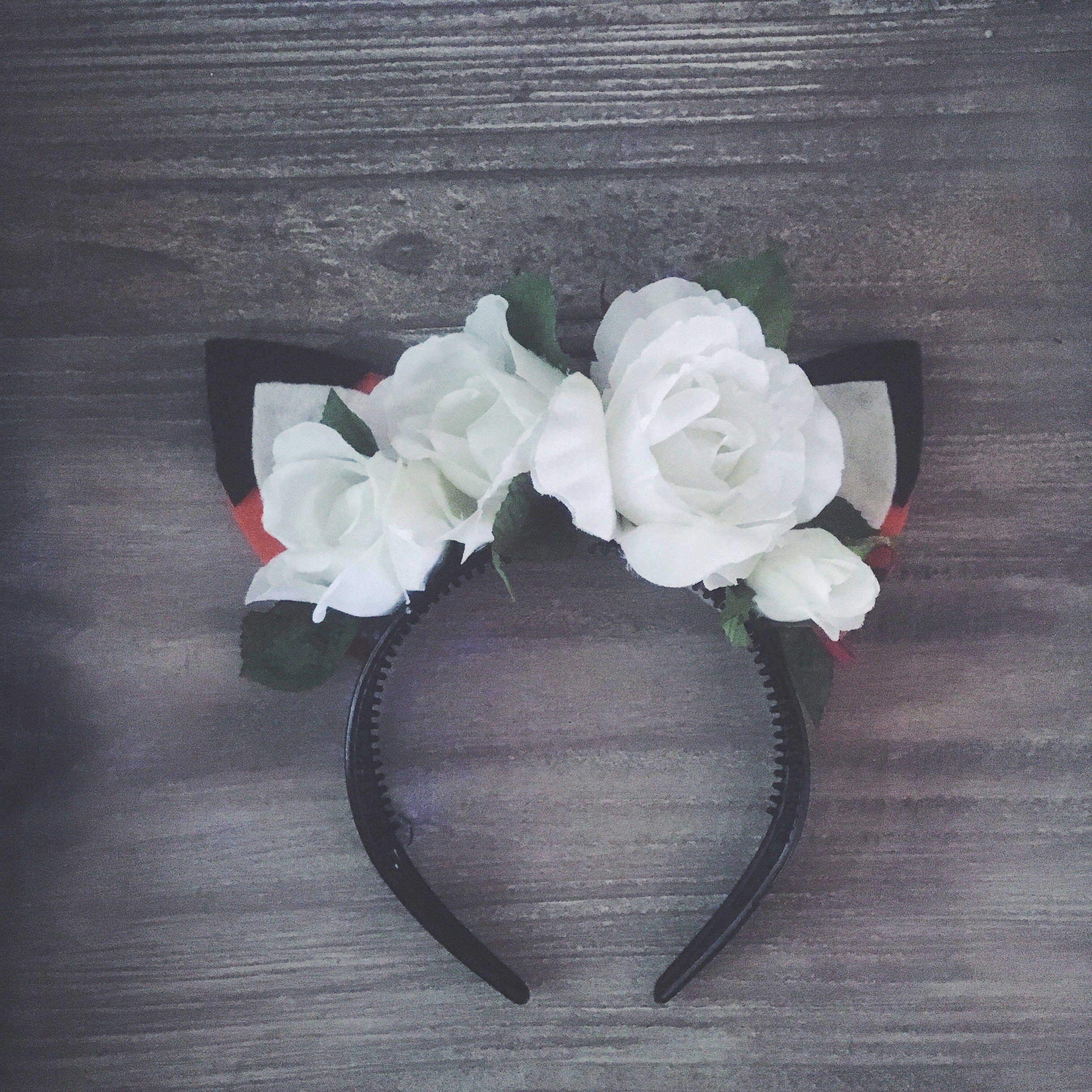 Floral foxy headband $27!