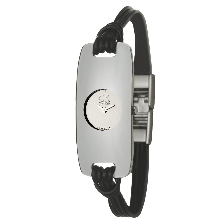 Calvin Klein Women's 'Connect' Mirror Quartz Watch, Silver