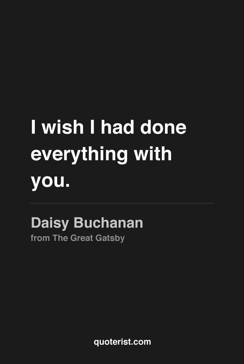 Daisy Buchanan Quotes 5