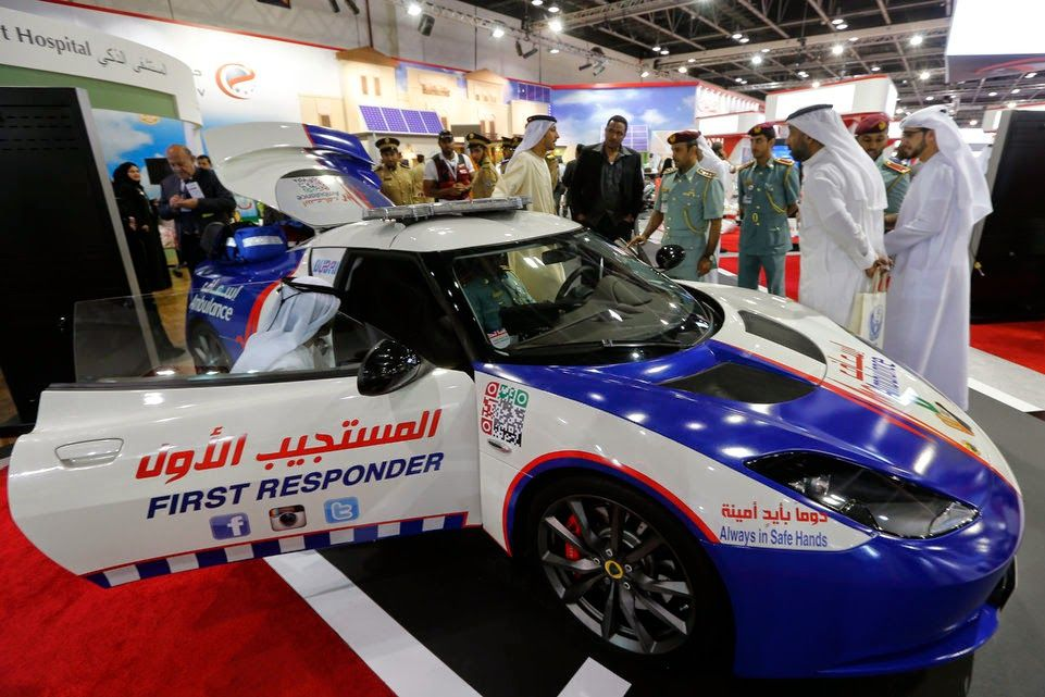 Future Of Dubai Dubai Ambulance Lotus in fleet of