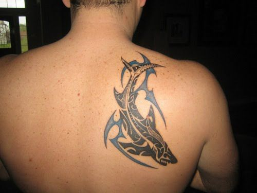 Tatouage Tribal Dos Homme Upper Back Tribal Tattoo Designs 10