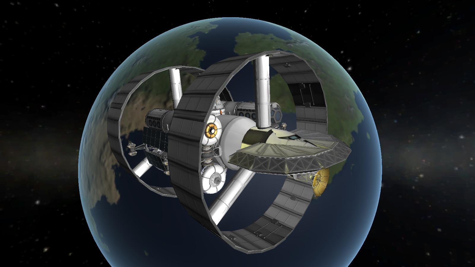 The Kerbal Version Of NASA's Warp Drive Ship Is Just As Cool
