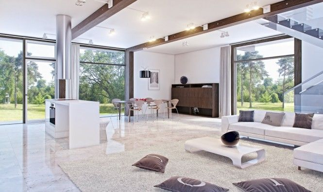 white marble living room with glass accents | White marble floor, Luxury  marble flooring, Marble floor