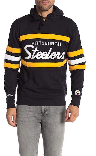 6c0757a39ff MITCHELL & NESS | NFL Pittsburgh Steelers Head Coach Hoodie ...