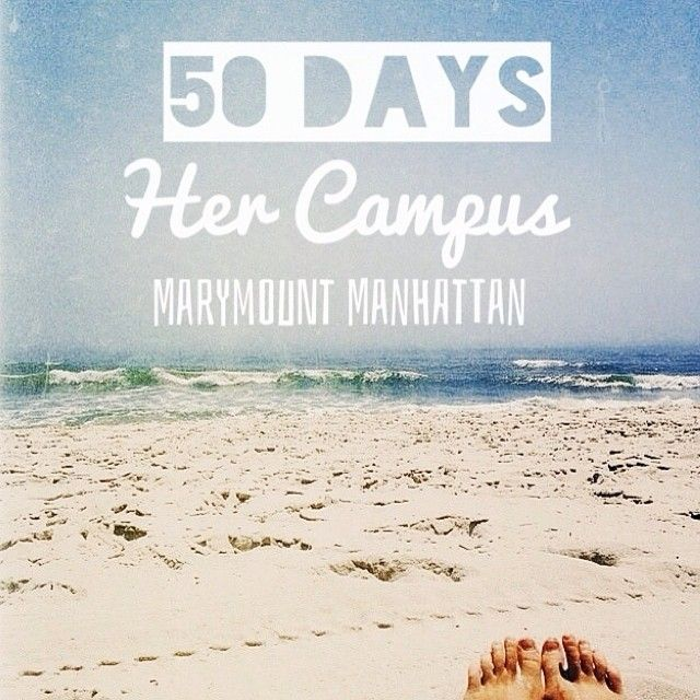 Her Campus Marymount Manhattan launches in 50 days!