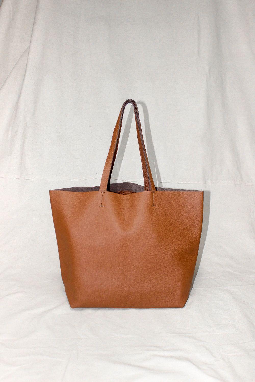5e39e76ec Custom leather tote bag in 2019 | Kristiina Taylor | Handbags ...