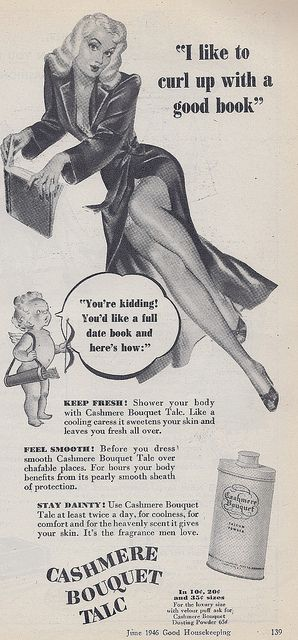 Because of course no woman's life is complete without a man: old sexist advertisements