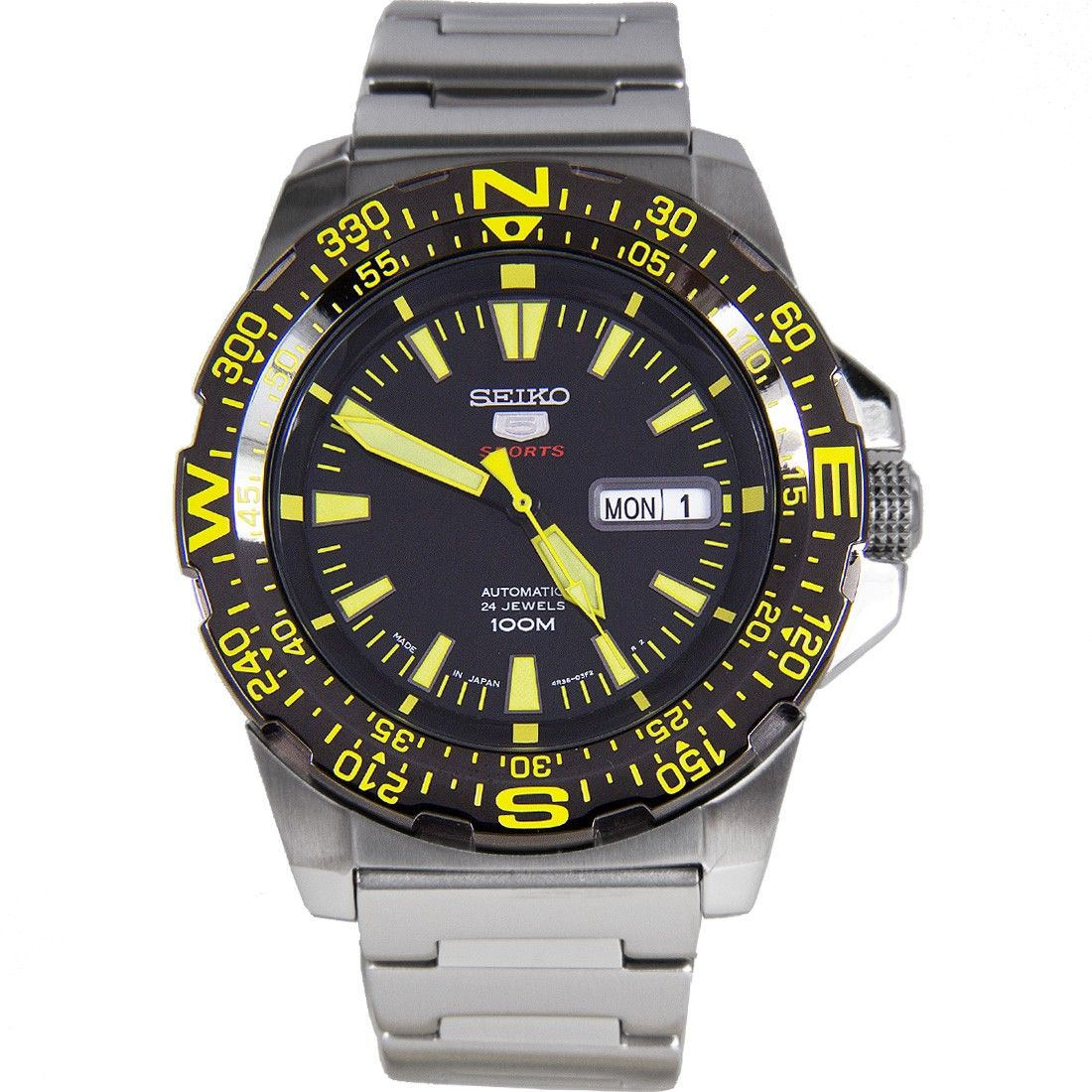 Seiko 5 Automatic Stainless Steel Watch SRP545J1 SRP545