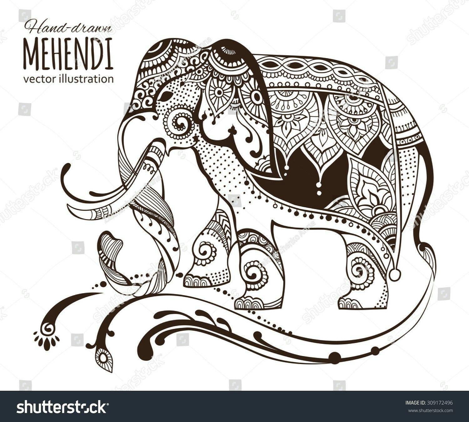 Pin by Elisabeth Quisenberry on Coloring: Elephants   Pinterest