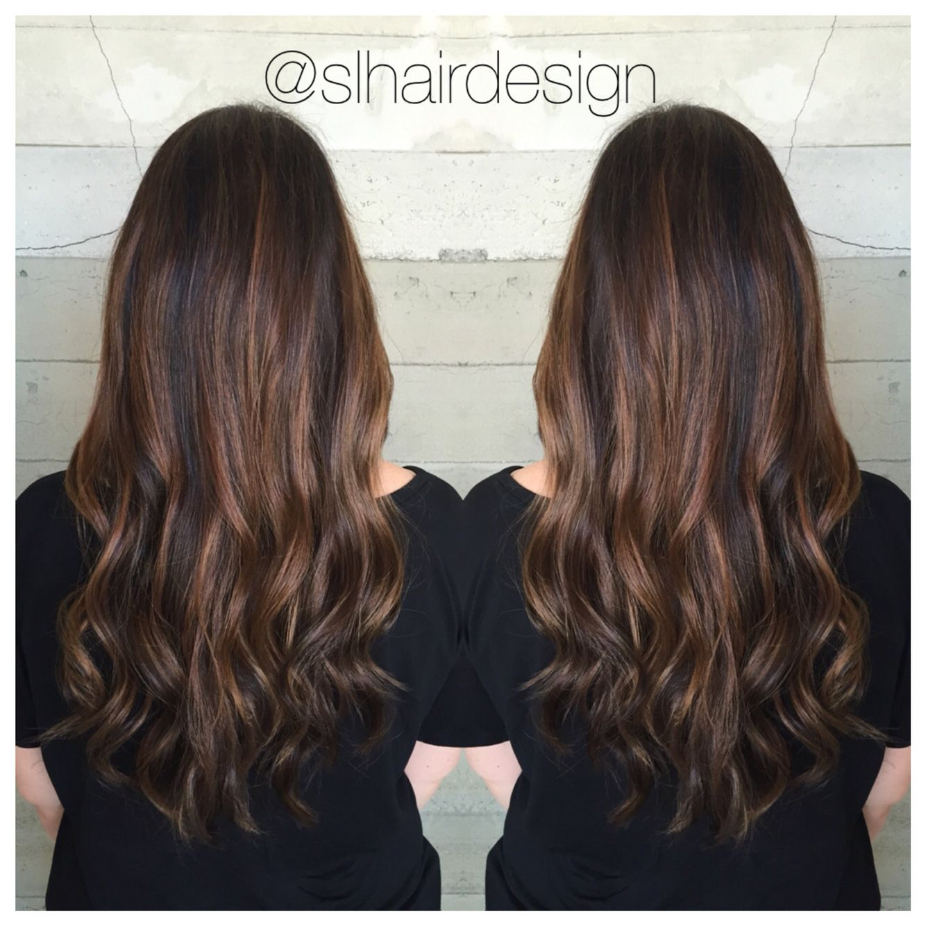 Natural Caramel Balayage Highlights By Stephanie Lopez Slhairdesign At Butterfly Loft Salon Caramel Balayage Balayage Highlights Balayage
