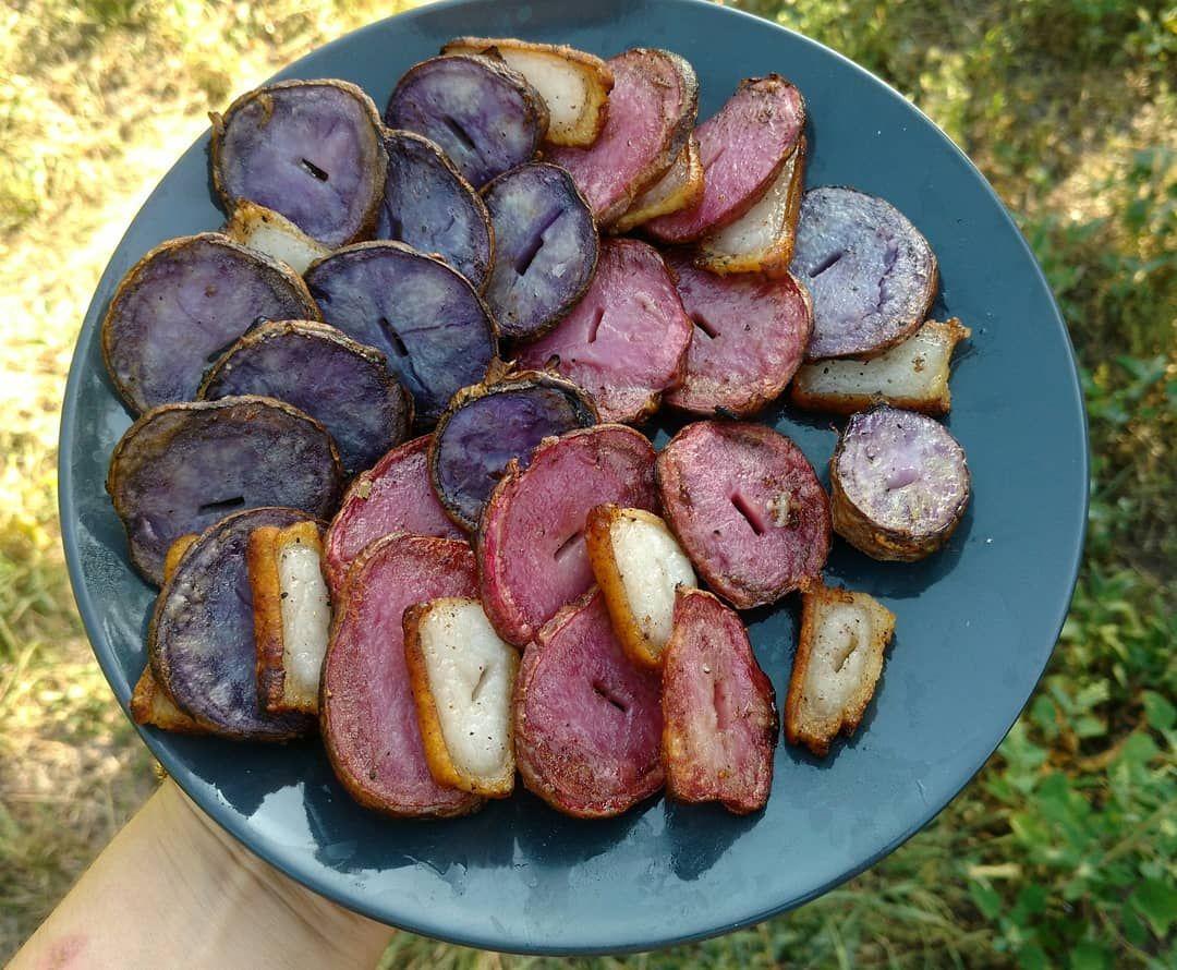 Моя улюблена картопелька! 💜 ❤️ 💜 ❤️