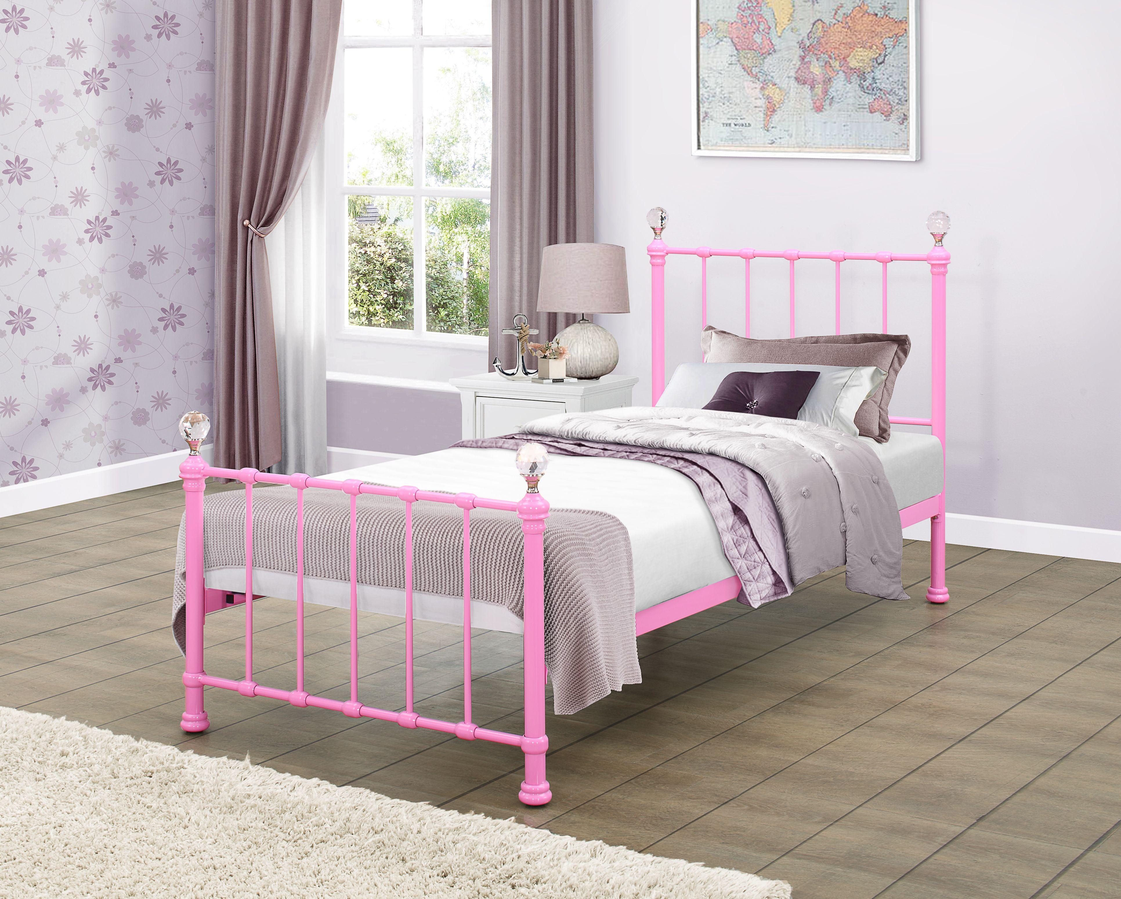 Jessica Bed Single Metal Bed Frame Metal Beds Bed