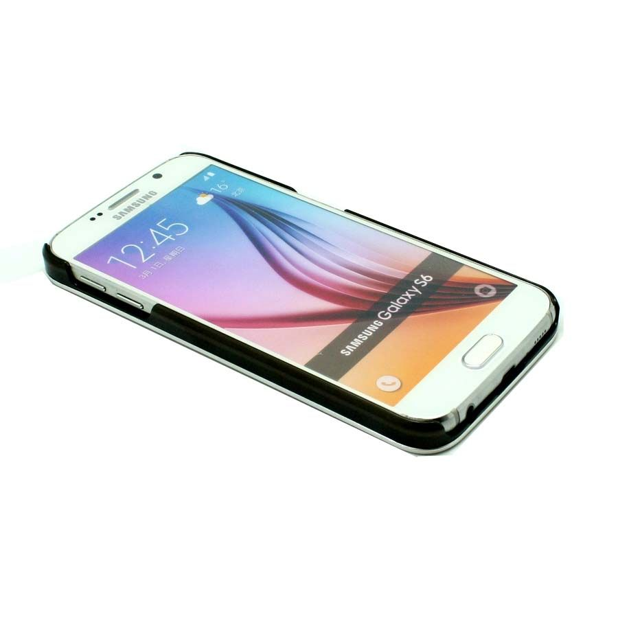 ΘΗΚΗ SAMSUNG GALAXY S6 HARD METAL ΑΣΗΜΙ | TheMrGadget.gr