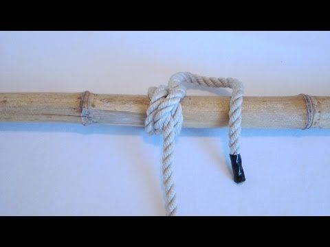 How To Tie A Rolling Hitch - Knot  sc 1 st  Pinterest & How To Tie A Rolling Hitch - Knot | Knot Videos | Pinterest ...