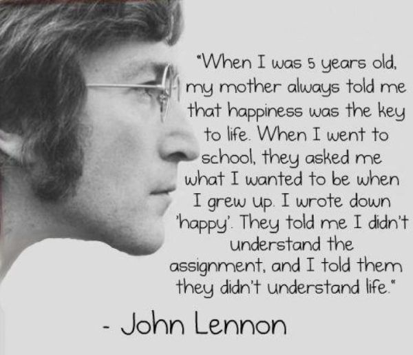 John Lennon Quote John Lennon Quotes Me Quotes Inspirational Words
