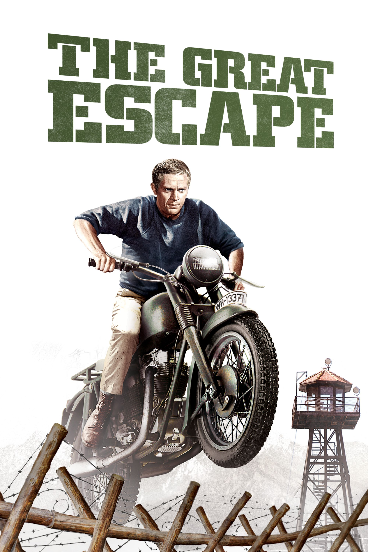 the great escape 1963 movie poster steve mcqueen
