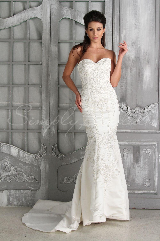 cbcb30df792 Lina Gown - Wedding Dress - Simply Bridal
