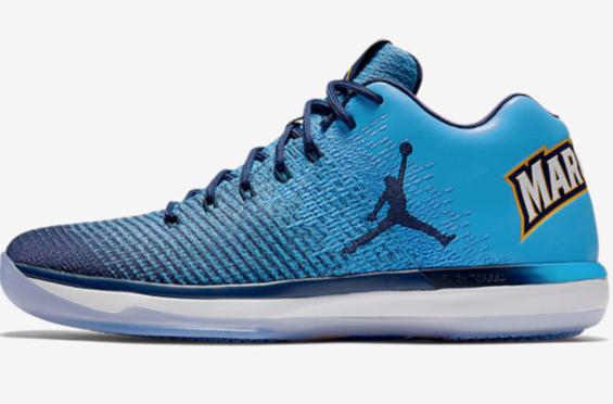 fd18a8e2a22d4a ... Sneaker Bar Detroit. Release Date  Air Jordan 31 Low Marquette