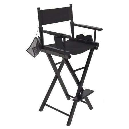 Best Choice Products Foldable Lightweight Professional Makeup Artist Directors Chair Black Walmart Com Makeup Artist Chair Directors Chair Makeup Chair