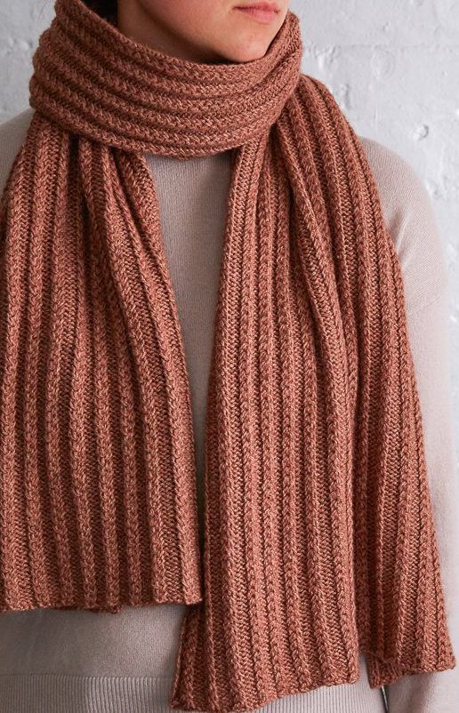 Free Knitting Pattern for 2 Row Repeat Braided Rib Wrap | Things to ...