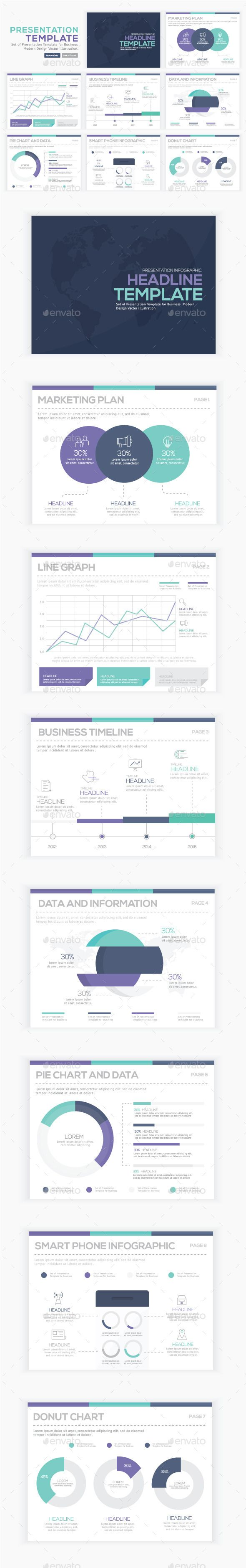 Infographics Presentation Vector Element  Infographics