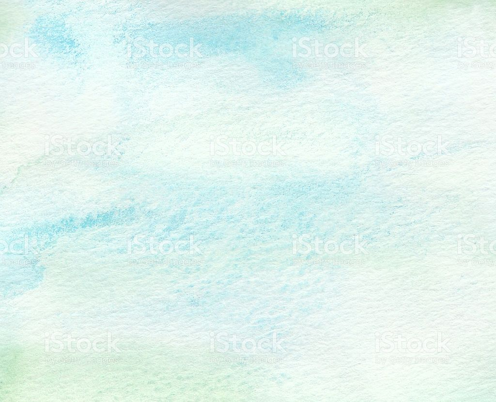The Watercolor Paint On Paper With Faded Blue Green Tones Textures