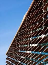 Image result for modular curtain wall with integrated solar