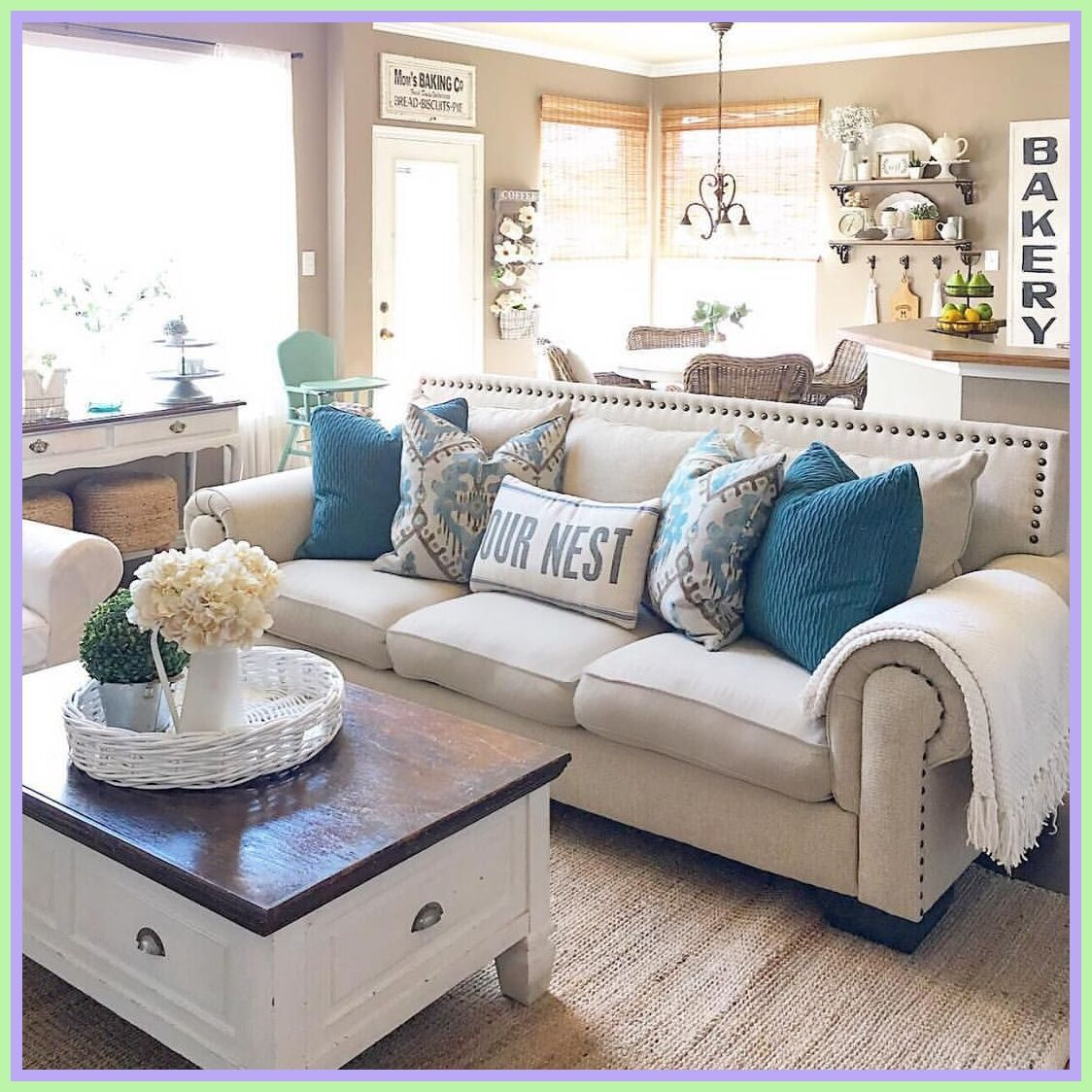 118 Reference Of Farmhouse Living Room Brown Sofa In 2020 Farmhouse Living Room Furniture Farmhouse Decor Living Room Farm House Living Room
