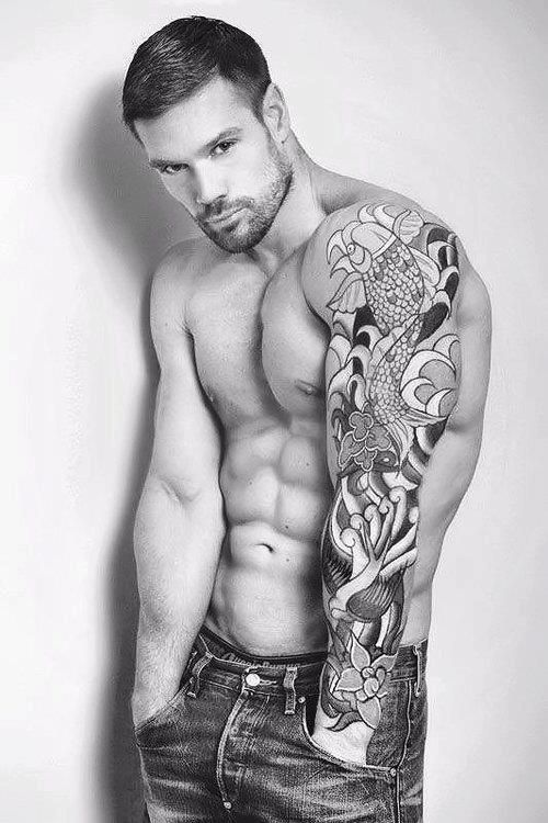 Tatuajes Guapos Para Hombres want more hot men with tattoos 'like' us at www.facebook