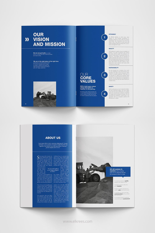 Creativemind02: I will design professional brochur