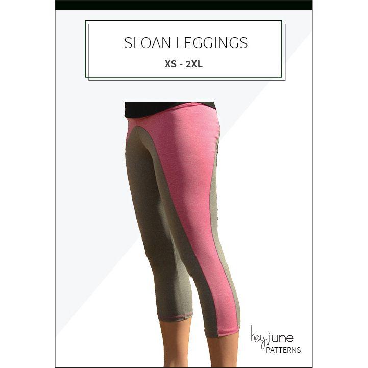 Sloan Leggings pdf pattern by Hey June Handmade | Women\'s PDF ...