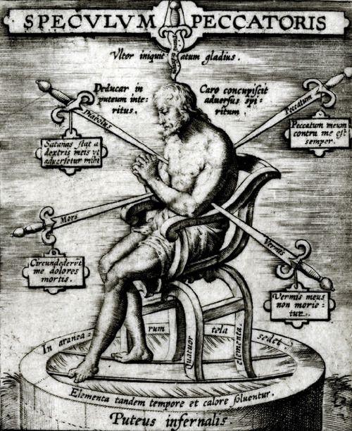 Hieronymus Wierix-Speculum peccatoris (c. 1619).