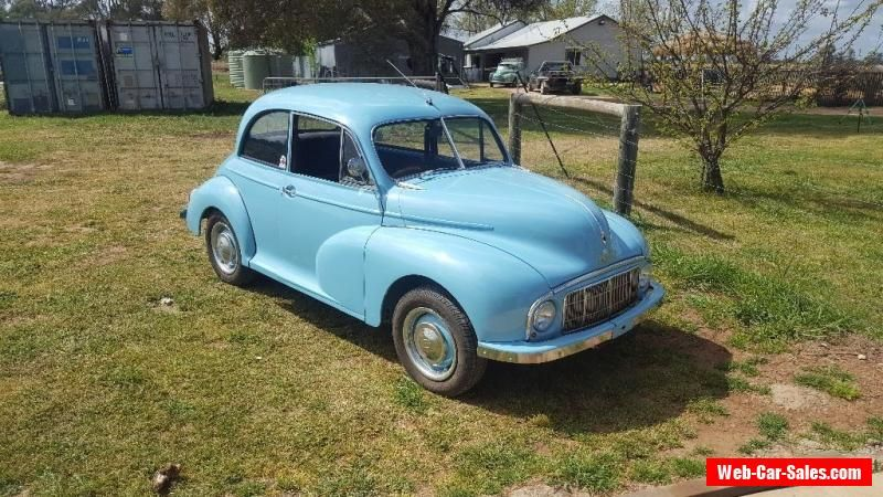 Morris Minor Low Light Morris Minor Forsale Australia