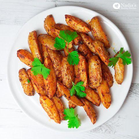 Baked Paprika Potato Wedges