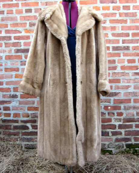 Vintage Mincara Coat @ http://www.etsy.com/shop/FrequencyVintage